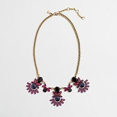 Factory hanging stone clusters necklace