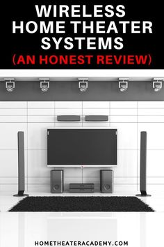 I've been seeing a recent surge in popularity for wireless home theater systems, which is something I've managed to stay away from for quite some time. Home Theater Wiring, Wireless Home Theater System, Wireless Speaker System, Home Theater Speakers, Best Home Theater, At Home Movie Theater, Home Theater Rooms, Home Theater Design, Media Room Design