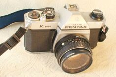Pentax Camera with bag and supplies - Asahi Vintage 35mm Film, Film Camera, Pentax Camera, My Forever, Best Camera, My Etsy Shop, Kids, Stuff To Buy, Vintage