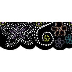 Dots n Bloom Bulletin Board Border-Trimmer