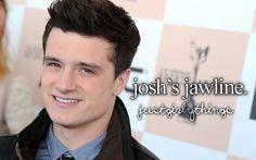 Josh's jawline
