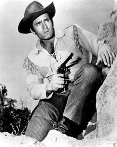 Clint Walker as Cheyenne Bodie. One of my favorite old westerns probably because he was so cute! :)