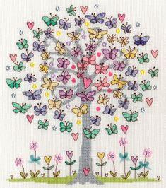 Love Spring Cross Stitch - Bothy Threads