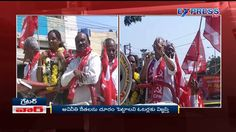 CPI leader BV Raghavulu  speaks during GHMC election campaigning - Expre...