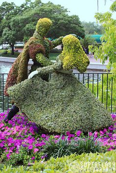 Topiary Garden, Garden Art, Amazing Gardens, Beautiful Gardens, Disney Garden, Beautiful Flowers Garden, Garden Living, My Secret Garden, Parcs