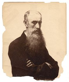 Citation: William Morris Hunt, not before 1866 / unidentified photographer. Macbeth Gallery records, Archives of American Art, Smithsonian Institution.