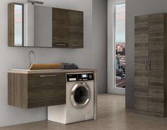 Bagno piccolo con lavatrice  (Foto 26/40)   Designmag