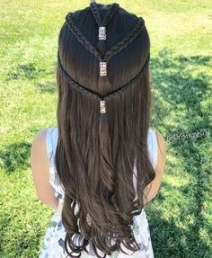 22 Kids Hairstyles That Any Parent Can Master – Beauty Hacks Baby Girl Hairstyles, Princess Hairstyles, Down Hairstyles, Braided Hairstyles, Girl Hair Dos, Hair Due, Toddler Hair, Braid Styles, Hair Inspiration