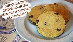 i famosissimi biscotti americani con gocce di cioccolato, golosissimi e molto amati in tutto il mondo! Provateli e li amerete al primo boccone!