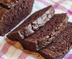Recipe Chocolate Zucchini Bread (Gluten Free) by The Naked Baker - Recipe of category Baking - sweet