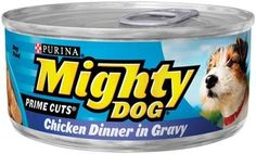 Purina Mighty Dog Prime Cuts Dog Food  Chicken Dinner in Gravy 24 Pack -- ** AMAZON BEST BUY -affiliate link** #foodfor dogs