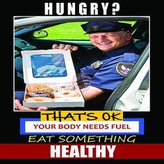 Police Law Enforcement healthy diet workout motivation