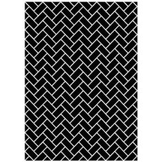 Eichholtz Carpet Trianon Black ($2,215) ❤ liked on Polyvore featuring home, rugs, black, black geometric rug, geometric area rugs, black and white geometric rug, wool area rugs and black white rug