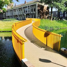 Golden Garland bridge Tiel The Netherlands by wUrck [1600x1600]