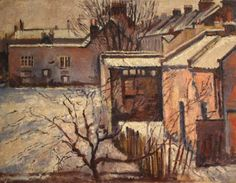 Shakey's Yard in Winter by Albert Turpin