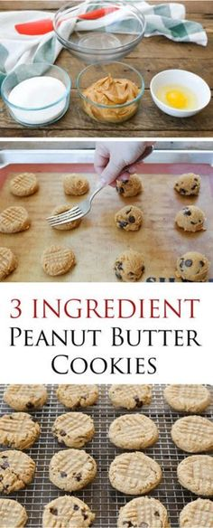 These chewy, dense, peanut butter cookies are an unforgettable memory from my childhood. The recipe is a classic; just an egg, a cup of peanut butter and a cup of sugar. After you've made them once, the...