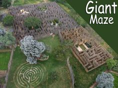 Johannesburg, South Africa: Aerial view of Elemental Maze, with 5 gardens Amazing Maze, History Of Earth, Garden Venue, Country Hotel, School Holidays, Stargazing, Aerial View, Fun Activities, Trip Advisor