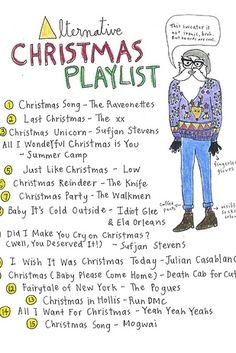 Integrate your individual Christmas playlists into one. | 20 Ways To Have A Delightful Christmas For Two