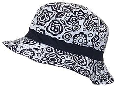 7e4370a99c1 Solid Wing Reversible Summer Floppy Bucket Hat W Hawaiian Designs (One  Size) -