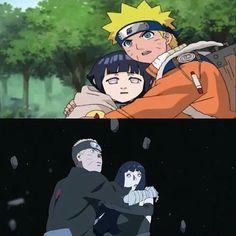 Naruto and Hinata Hinata Hyuga, Naruto Uzumaki, Anime Naruto, Naruto Cute, Shikamaru, Manga Anime, Naruto Family, Naruto Couples, Anime Couples