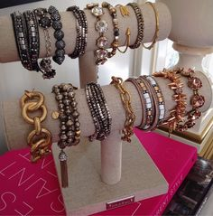 Arm candy for the weekend.  #SDArmParty #stelladotstyle by Stella & Dot