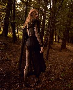 Rianne van Rompaey Fronts 'The Witching Hour' By Craig McDean For Vogue UK September2015