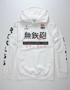Men's Clothing Get Behind Me Satan Hoodies Fashion Retro Men Cool Cotton Sweatshirt Coat Hip Hop Tops Harajuku Streetwear