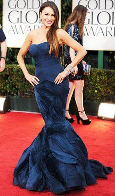2012 Golden Globes:Sofia Vergara