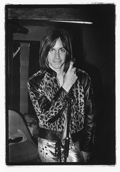 The Stooges Iggy Pop, 'Raw Power' photoshoot, Photo Mick Rock. Iggy Pop, Iggy And The Stooges, Power Photos, Unseen Images, Fandom, Thing 1, Post Punk, Glam Rock, Rock Style
