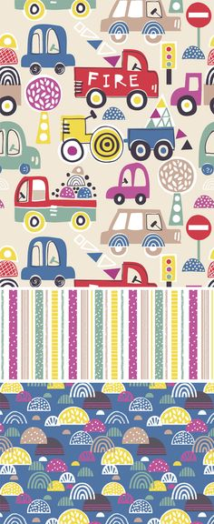 wendy kendall designs – freelance surface pattern designer » fire truck