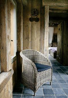 diseño_interior_cabaña rustica en Belgica