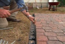 How to Make a Patio out of Concrete Pavers • Ron Hazelton Online • DIY Ideas & Projects