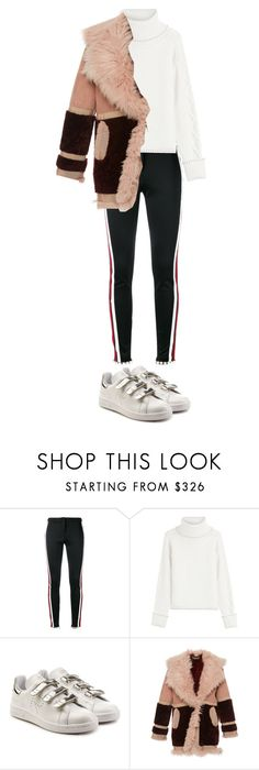 """""""Untitled #404"""" by xjustinv ❤ liked on Polyvore featuring Gucci, Karl Lagerfeld, adidas and Roberto Cavalli"""