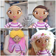 8 Crochet Hats, People, Ideas, Amigurumi Doll, Piglets, Crochet Dolls, Free Pattern, Eyes, Creativity