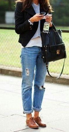 20 'looks' para usar pantalones tipo 'boyfriend'