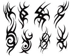 plantillas de tatuajes para el brazo tribales