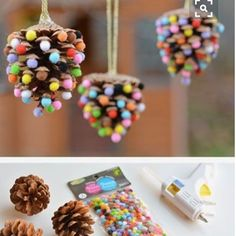 Being a bit obsessed with Pom Poms... this may be my project to add some POM to our tree. #diyornaments #christmasdecor #pompom