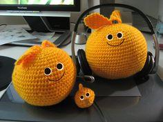 Loco Roco (crochet) by Yukiko