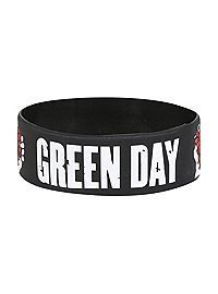 Green Day American Idiot rubber bracelet