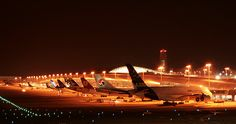 Airbus A380 at Kansai Airport