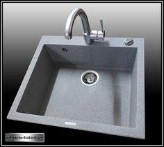 Chiuveta bucatarie granit Indra 60 cm - roll dryer cadou Dryer, Sink, Rolls, Home Decor, Granite, Sink Tops, Clothes Dryer, Vessel Sink, Decoration Home