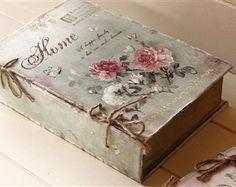 ... arredamento shabby chic oggetti country shab more shabby chic boxes