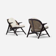 EDWARD WORMLEY, armchairs model 5700-A, pair | Wright20.com