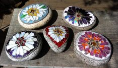 Make splashy garden and other keepsakes with mosaic stones - The Orange County Register
