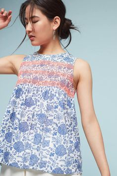 Indi & Cold Rema Embroidered Top