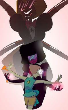Steven Universe art fanart sardonyx garnet pearl fusion dance sketch doodle cute cool kawaii awesome quirky gem crystal gems cartoon network tumblr pinterest amazing idea quote sad happy lovely