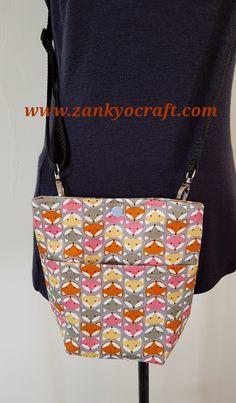Foxy Corduroy Mini Shoulder Bag   by Zankyo Craft