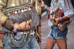 Collares y pulseras Masai - Nomadbubbles Tribu Masai, Boho Chic, Collars, Dreadlocks, Hair Styles, Crochet, Beauty, Tips, Fashion