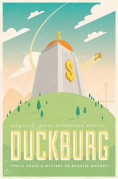 Cool Fictional Travel Poster Art inspired by Movies and TV - News - GeekTyrant