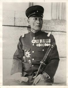 1935- Major General H. Tada, commander of Japanese forces in China.